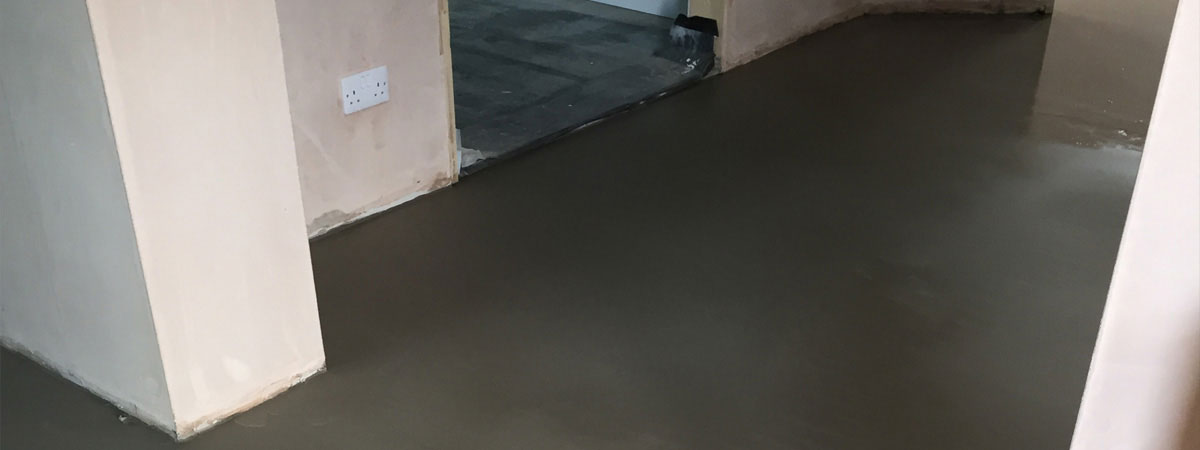 Latex Floor Screed - After Picture